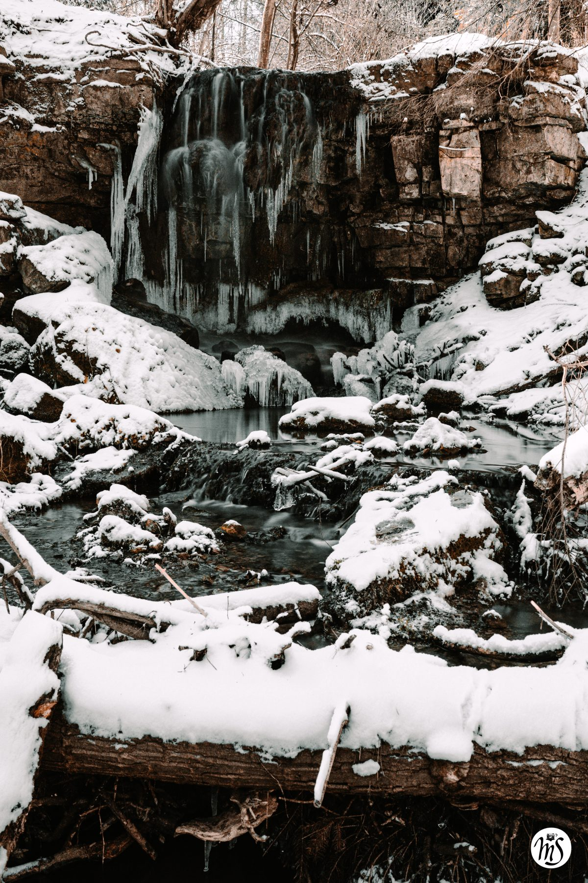Wasserfall eis
